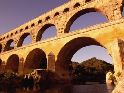 Pont Du Gard, Languedoc-Roussillon, France by Diana Mayfield