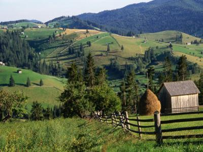 Rural Countryside, Sacele, Brasov, Romania, by Diana Mayfield