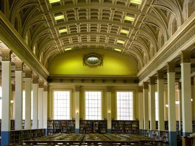 The Reading Room in the Barr Smith Library, University of Adelaide