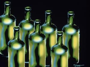 Wine Bottles by Diana Ong