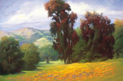 Poppies en Plein Air