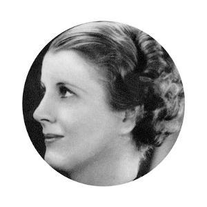 Diana Wynyard, British Stage and Film Actress, 1934-1935