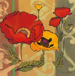 Majestic Poppies II by Diane Hoeptner