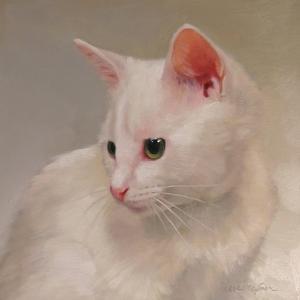 White Kitten by Diane Hoeptner