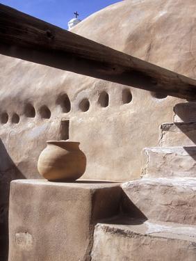 Tumacacori Mission Church in Arizona, USA by Diane Johnson