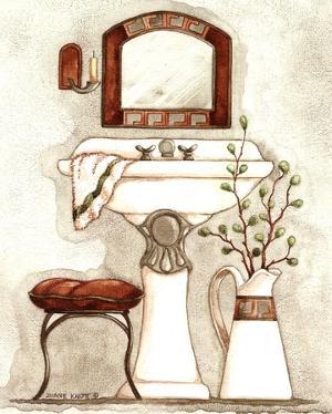 Athena IV Classic Bath by Diane Knott