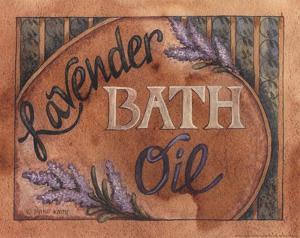 Lavender Bath Oil by Diane Knott