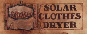Solar Clothes Dryer by Diane Knott