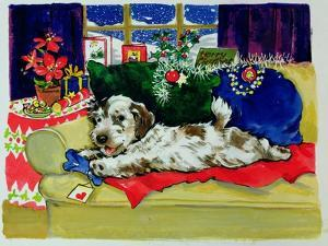 A Bone for Christmas by Diane Matthes