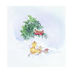 Christmas Mice and Robins by Diane Matthes