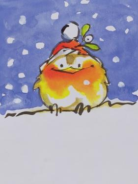 Christmas Robin by Diane Matthes