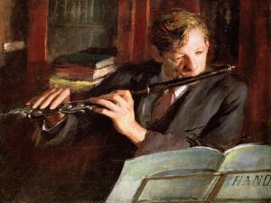 Clifford Musgrave,The Flautist by Diane Matthes