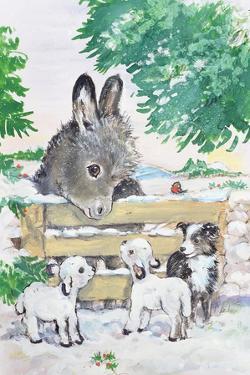 Farmyard Friends, 1996 by Diane Matthes