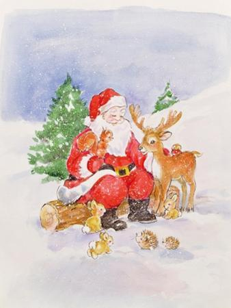 Santa and Friends by Diane Matthes