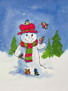 The Snowman by Diane Matthes