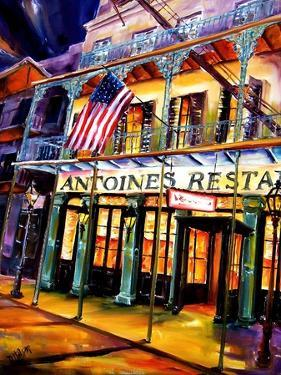 Antoines Restaurant in the French Quarter by Diane Millsap