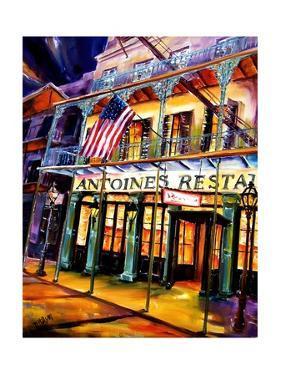 Antoines Restaurant in the French Quarter by Diane Millsap