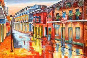 Bourbon Street Morning by Diane Millsap