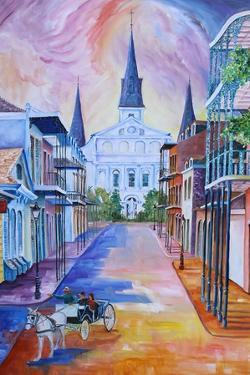 Carriage on Orleans Street by Diane Millsap