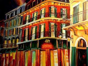 Desire Oyster Bar On Bourbon Street by Diane Millsap