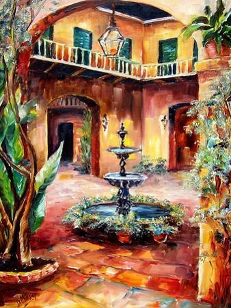 Evening in a Courtyard by Diane Millsap