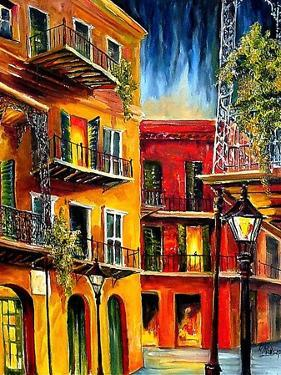 French Quarter Balconies by Diane Millsap