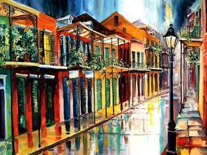 French Quarter Rain by Diane Millsap