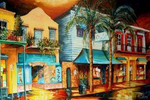 Frenchmen Street, New Orleans by Diane Millsap