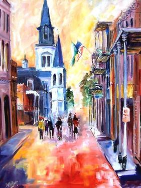 Misty Morning On Chartres Street by Diane Millsap