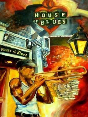 New Orleans House Of Blues by Diane Millsap
