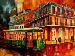 New Orleans Night Streetcar by Diane Millsap