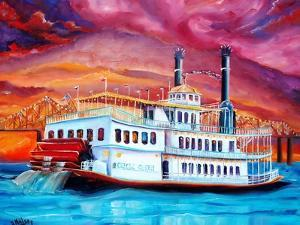 New Orleans River Boat by Diane Millsap