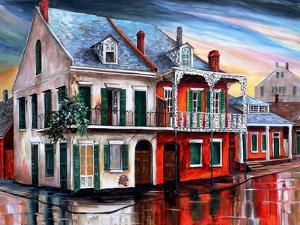 Old House on Royal Street by Diane Millsap
