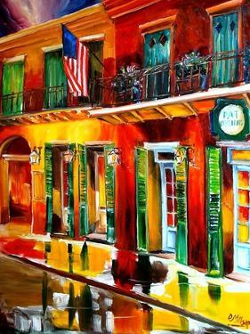 Outside Pat O Briens Bar by Diane Millsap