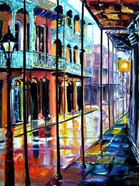 Rain on Royal Street by Diane Millsap