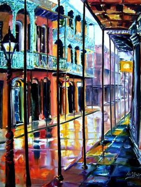 Rain on Royal Street by Diane Millsap