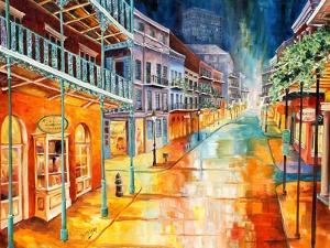 Royal Street at Night by Diane Millsap
