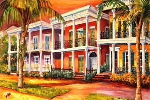 Sultry Day on Esplanade Ave. by Diane Millsap
