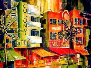 The South Beach Strip by Diane Millsap