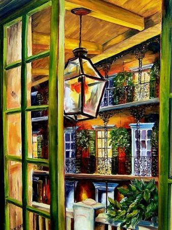 View from a French Quarter Balcony by Diane Millsap