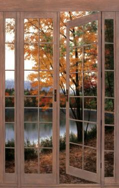 Autumn Threshold by Diane Romanello