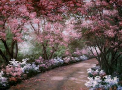 Azalea Walk by Diane Romanello