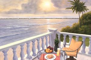 Breakfast on the Veranda by Diane Romanello