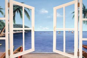 Day Dreams Window by Diane Romanello