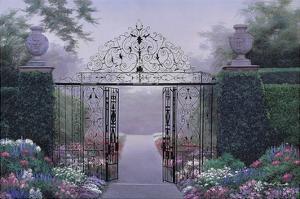 Elegant Garden by Diane Romanello