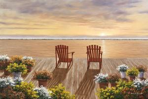 Evening Deck View by Diane Romanello