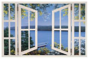 Island Time with Window by Diane Romanello