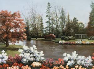 Lakeside View by Diane Romanello