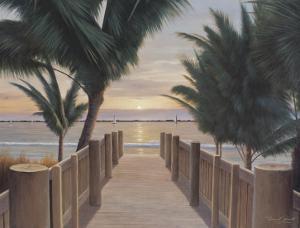 Palm Promenade by Diane Romanello