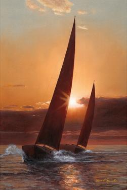 Red Sails by Diane Romanello